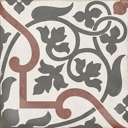24406, Art Nouveau, Violetti, lattia,pakkasenkesto,liukastumisenesto