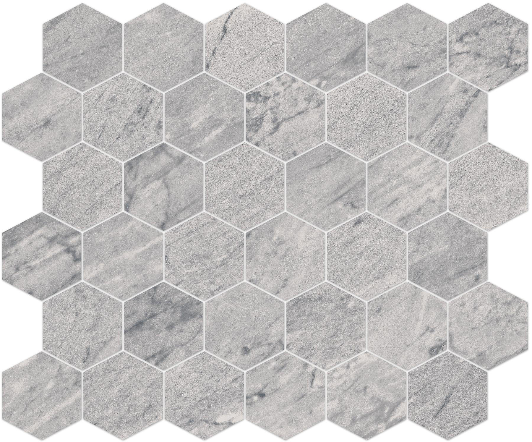 8883/720, Bernini Stone, Harmaa, lattia,mosaiikki