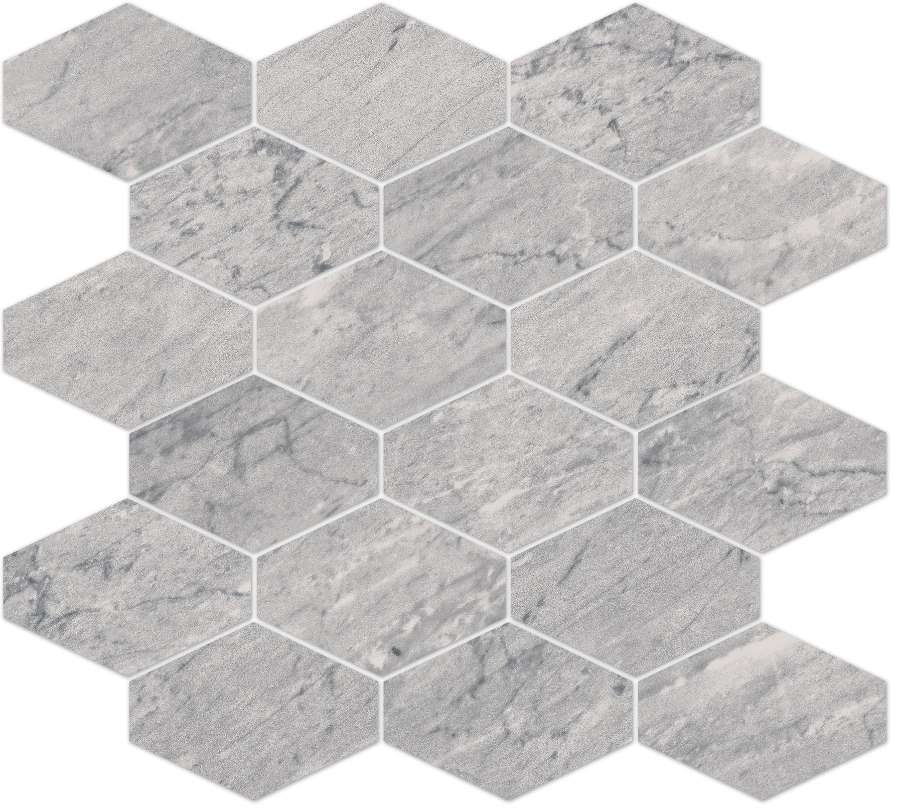 8883/820, Bernini Stone, Harmaa, lattia,mosaiikki