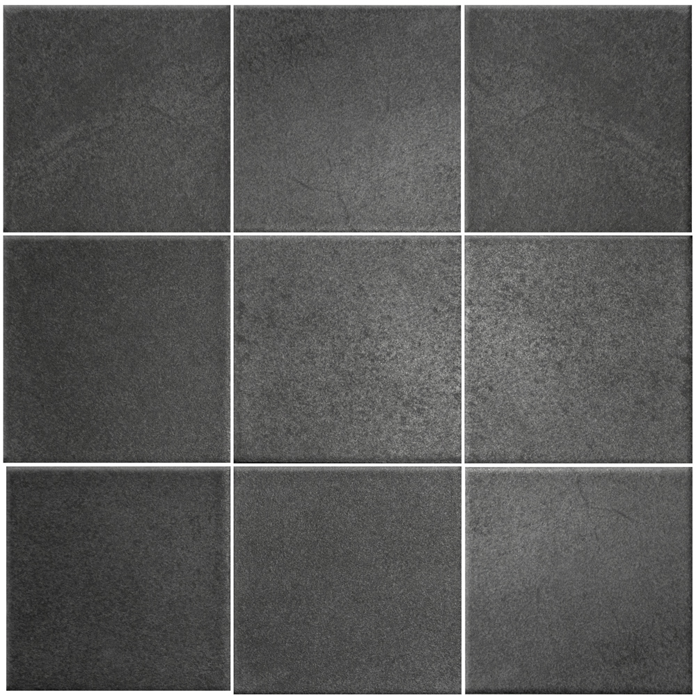 66008978, Landstone 10x10, Tummanharmaa, lattia