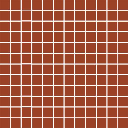 25-0133, Mosaico Porcelanico 2019, Punainen, lattia,liukastumisenesto,mosaiikki,pakkasenkesto