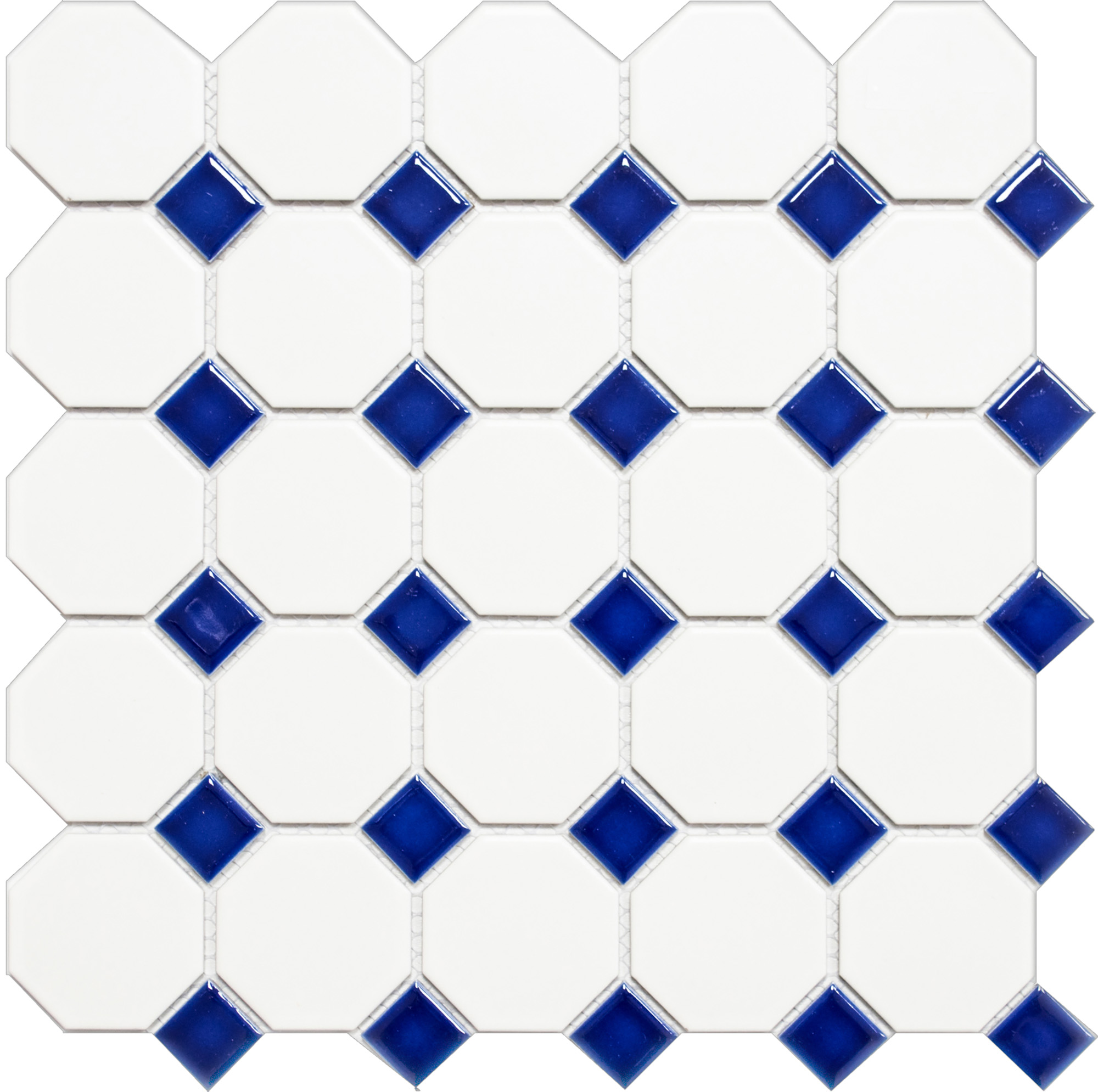 OCTAG464, Octagon, Valkoinen, mosaiiikki,lattia,pakkasenkesto